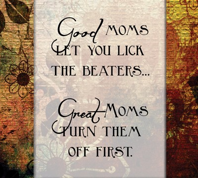 Good Moms Word Art {Mom of Many}