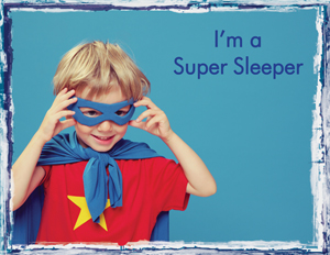 Positive Reinforcement - Is your child a super sleeper? {Mom of Many}
